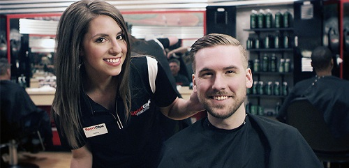 Sport Clips Haircuts of Wilkes Barre​ stylist hair cut